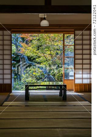 [가나가와 현] 가마쿠라 浄智寺에있는 조용한 분위기의 서원 72122041
