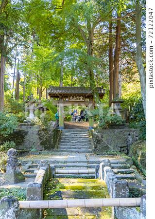 [가나가와 현] 가마쿠라 자연에 둘러싸인 浄智寺의 산문 72122047