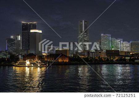 [Kanagawa Prefecture] The night Minato Mirai 72125251