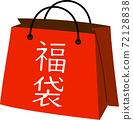 복 주머니 최초 판매 정월 신년 세일 바구니 홍보 72128838