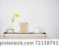 Landscape with bread and flowers 72138743