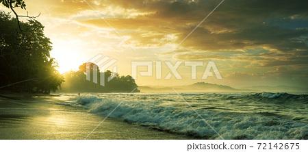 Coast in Costa Rica 72142675