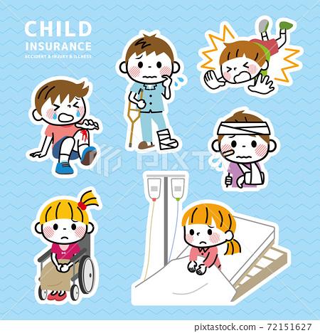 兒童意外傷害保險 72151627