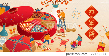 Chinese new year shopping banner 72152074