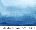 Beautiful stock illustration with watercolor blue background. 72163411