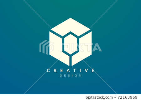 Design ideas for hexagon shapes and diamond symbols combined. Modern minimalist and elegant vector illustration. Suitable for patterns, labels, brands, icons or logos 72163969