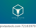 Design ideas for hexagon shapes and diamond symbols combined. Modern minimalist and elegant vector illustration. Suitable for patterns, labels, brands, icons or logos 72163970