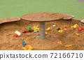 Kids toys in the sandbox 72166710
