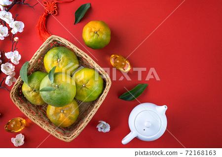 橘子 過年 農曆新年 Tangerine Chinese lunar new year 蜜柑みかん 72168163