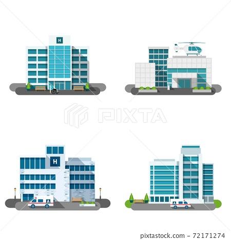 Hospital Building Set 72171274