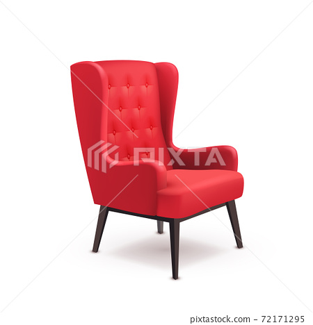 Chair Realistic Icon 72171295