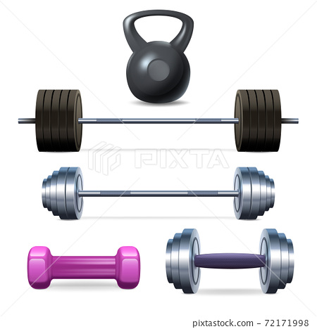 Dumbbells Barbells And Weight 72171998