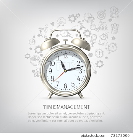 Time Management Poster 72172000