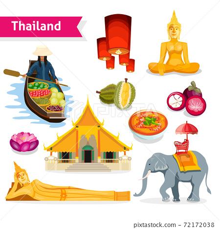 Thailand Travel Set 72172038