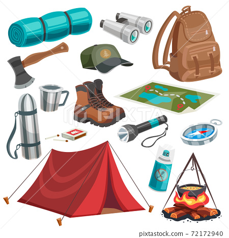 Camping Scouting Elements Set 72172940