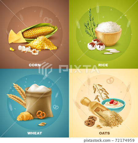 Cereals Design Concept 72174959