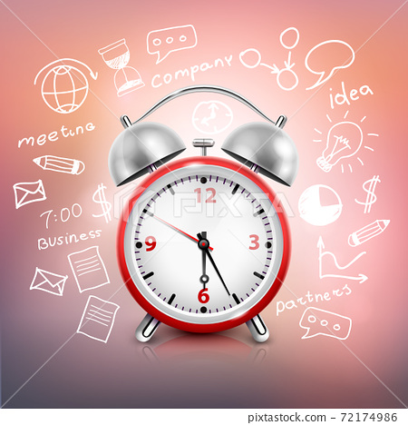 Clock Business Strategy Composition 72174986