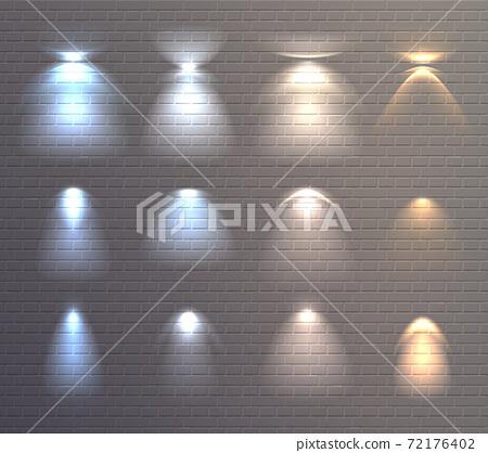 Light Effects Brick Wall Set 72176402