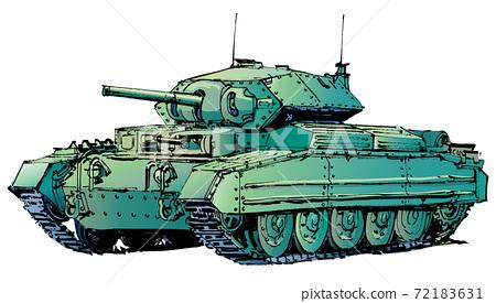 Crusader cruiser tank 72183631