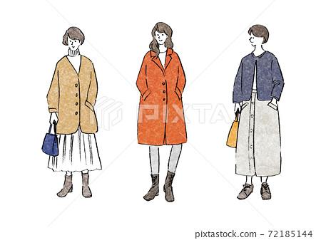 Women's fashion winter clothes 72185144