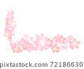 入口有櫻花圖案•畢業照剪裁 72186630