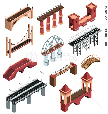 Bridges Isometric Set 72186781