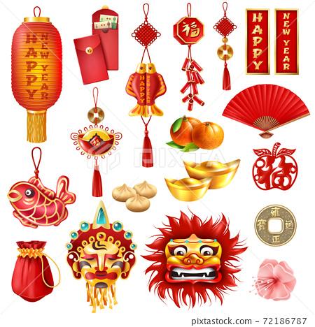 Chinese New Year Set 72186787
