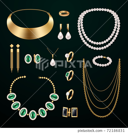 Jewelry Accessories Set 72186831