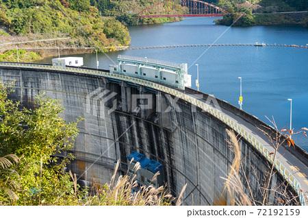 [미에현] 青蓮寺 호수 댐 72192159