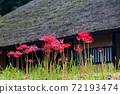 gan和茅草的屋頂 72193474