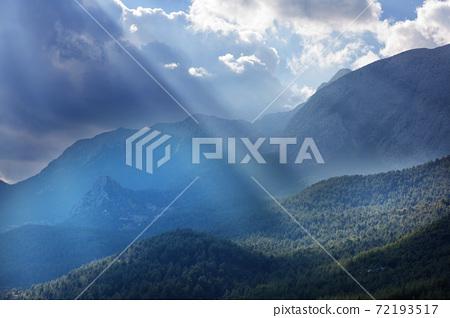 Turkey mountains 72193517