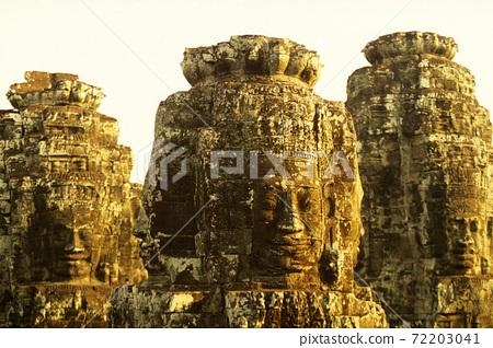 CAMBODIA SIEM REAP ANGKOR THOM BAYON TEMPLE 72203041