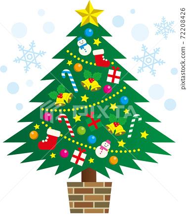 聖誕樹 聖誕季節 聖誕節期 72208426