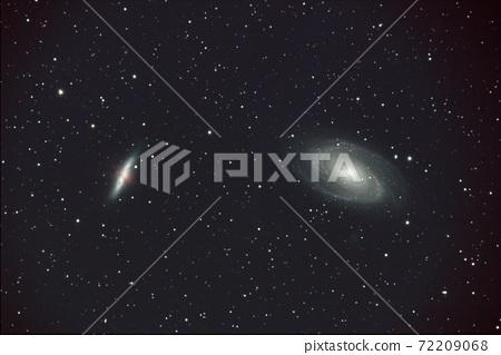 큰곰 자리의 M81과 M82 은하 72209068