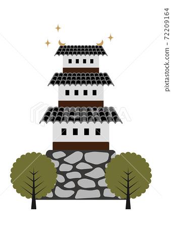 日本城堡圖 72209164