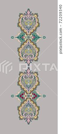 色彩豐富的花卉素材組合和設計元素 72209340