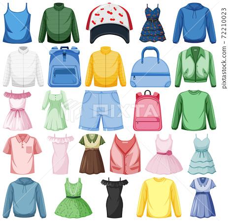 Set of fashion outfits 72210023