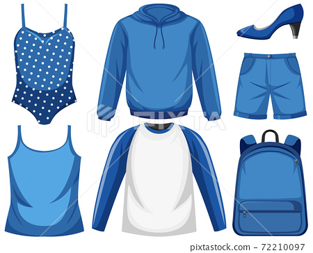 Set of blue outfit 72210097