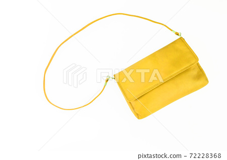 colorful fashionable clutch bag isolated on white background 72228368