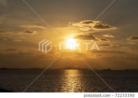 日落,松島,仁川 72233398