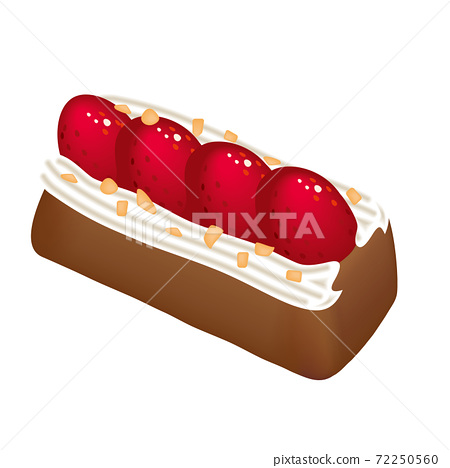 可愛的糖果草莓t 72250560