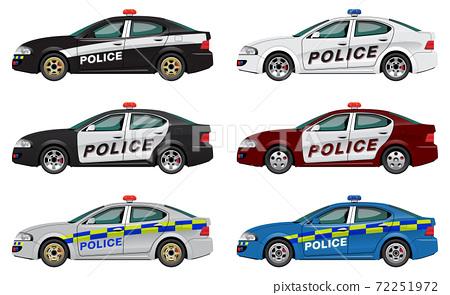 police car 04 72251972