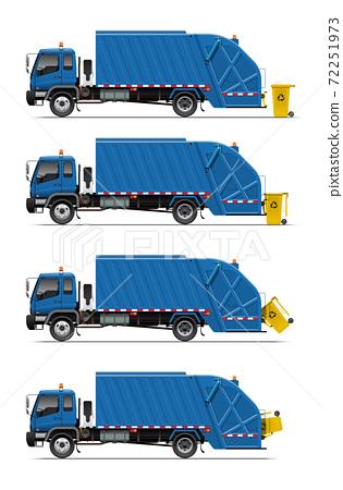 garbage truck 04 72251973