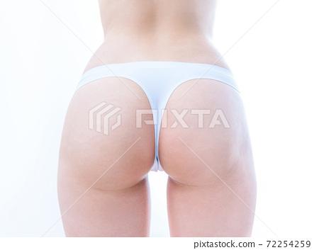 女性大小的漂亮屁股圖像 72254259