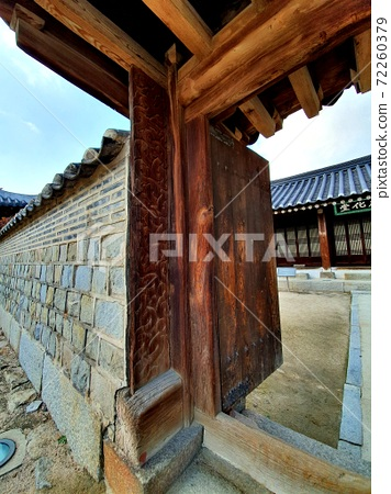 수원 화성 한국의 아름다운 문  72260379