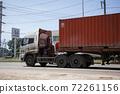 Trailer Container Cargo Truck of Uniquw Transport 72261156
