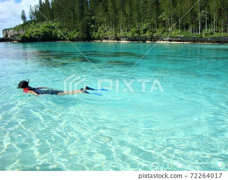 The natural pool of Ile Des Pan, the island closest to heaven 72264017