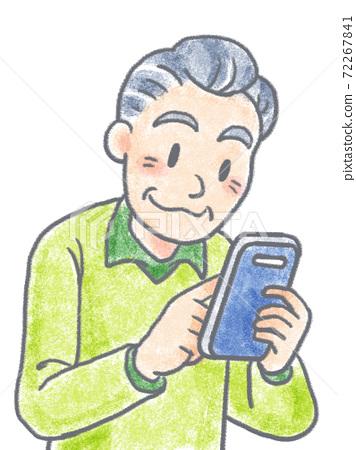 爺爺經營智能手機 72267841