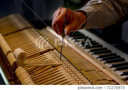 鋼琴拆卸檢查調整調整調整 72278973