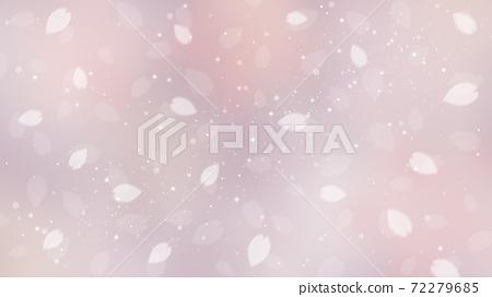 벚꽃 배경 일러스트 꽃잎 사쿠라 봄 일러스트 소재 72279685